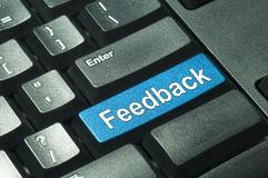 Feedback - IT Concept Stock Image