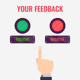 Feedback evaluation concept Royalty Free Stock Image
