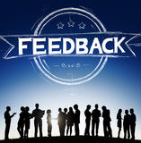 Feedback Evaluation Reflection Response Result Concept Royalty Free Stock Photo