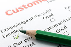 Feedback form Royalty Free Stock Image