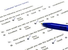 Feedback form Stock Photo