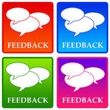 Feedback. Giving or receiving feedback at work or in life Royalty Free Stock Photography