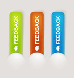 Feedback Labels Royalty Free Stock Image