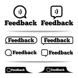 Feedback labels. Feedback tags. Feedback tab. Stock Images