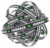 Feedback Loop Comments Response Roads Words Stock Photography