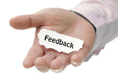 Feedback - Note Series Stock Images