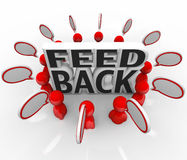 Feedback People Talking Input Survey Focus Group Royalty Free Stock Photo
