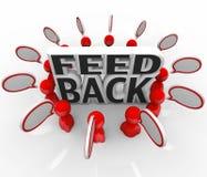 Feedback People Talking Input Survey Focus Group Royalty Free Stock Photo