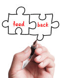Feedback Puzzle Concept Royalty Free Stock Image