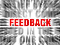 feedback stock de ilustración
