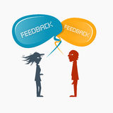 Feedback Vector Illustration Stock Photo