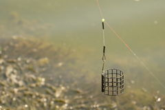 Feeder fishing Royalty Free Stock Images