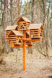 Feeders for birds. Royalty Free Stock Image