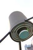 Feedhorn, LNB и клобук на спутниковой антенна-тарелке Стоковая Фотография
