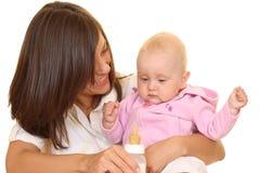 Feeding baby Royalty Free Stock Image