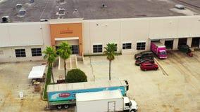 Feeding South Florida food bank aerial video