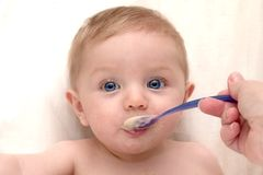 Free Feeding Time For Baby Stock Photos - 1680443