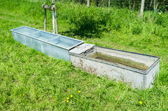 Feeding Troughs Stock Photos