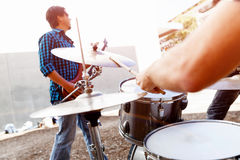 Feel the beat Royalty Free Stock Image