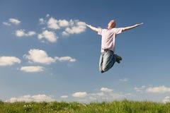 Feel free and happy Stock Photo