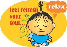 Feel fresh your soul Stock Photography