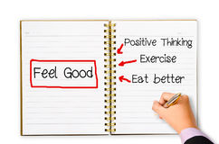 Feel Good concept Stock Photography