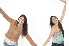 They feel happy, fresh and cool Royalty Free Stock Photos