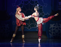 """Feel like old friends at the first meeting- ballet """"One Thousand and One Nights"""" Stock Photos"""