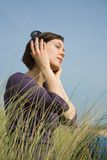 Feel the music Royalty Free Stock Photography