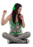 Feel the music Royalty Free Stock Images