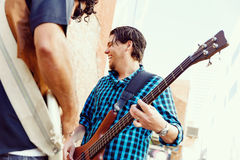 Feel the music Stock Photography