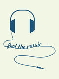 Feel the music Stock Images