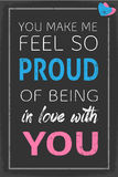 Feel Proud of your Love Royalty Free Stock Image