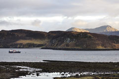 Isle of Skye. Feel the spirit of the Isle of Skye at the beginning of March and waiting for spring to start Stock Images