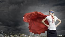 Feel yourself a hero! Royalty Free Stock Photo