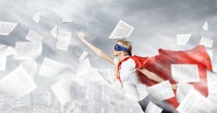 Feel yourself a hero! Stock Photo