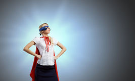 Feel yourself a hero! Royalty Free Stock Image