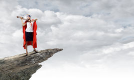 Feel yourself a hero! Royalty Free Stock Photography