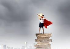 Feel yourself a hero! Stock Photos