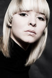 Feeling Arrogant. A model portrait in the studio royalty free stock images