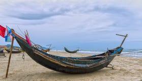 Feeling boats hurricane season Royalty Free Stock Images