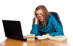 Feeling exhausted Stock Photos
