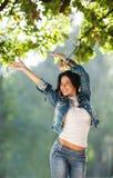 Feeling free Stock Photography