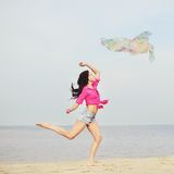 Feeling of freedom. Stock Images