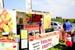 Feeling Fruity stall. Royalty Free Stock Images