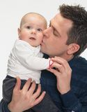 Feeling Happy With Baby Stock Image