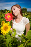 Female nature royalty free stock images