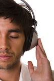 Feeling the music Stock Image
