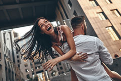 Feeling playful. Stock Images