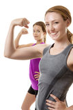 Feeling strong today Stock Photography